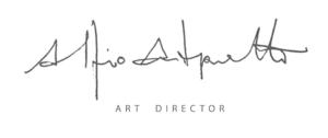 Firma di Alfio Antognetti, Art Director di Res Wine