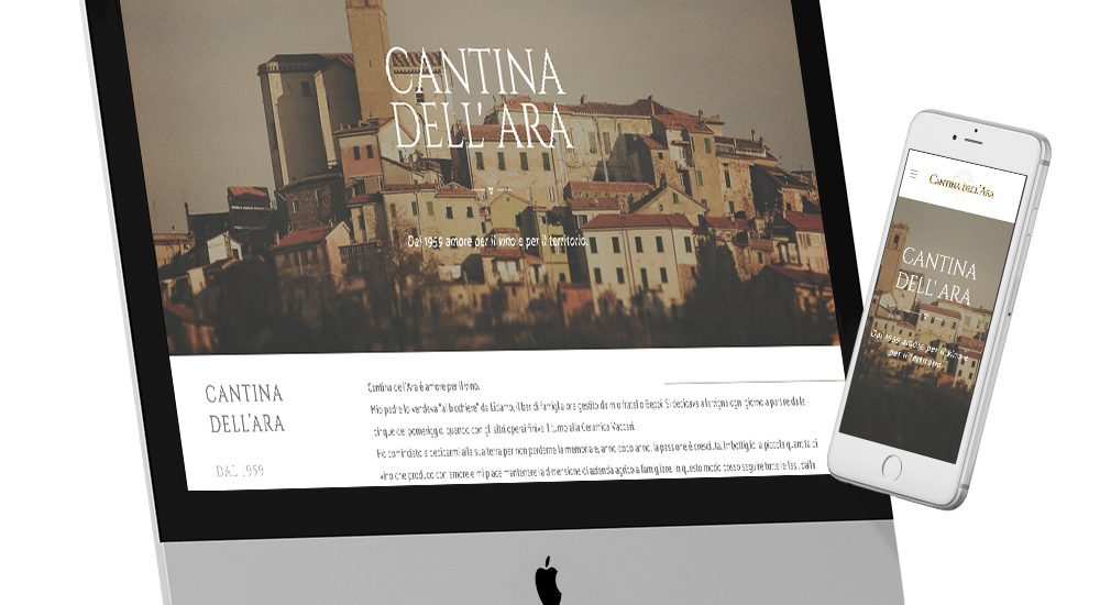 Cantina Dell'Ara sito web